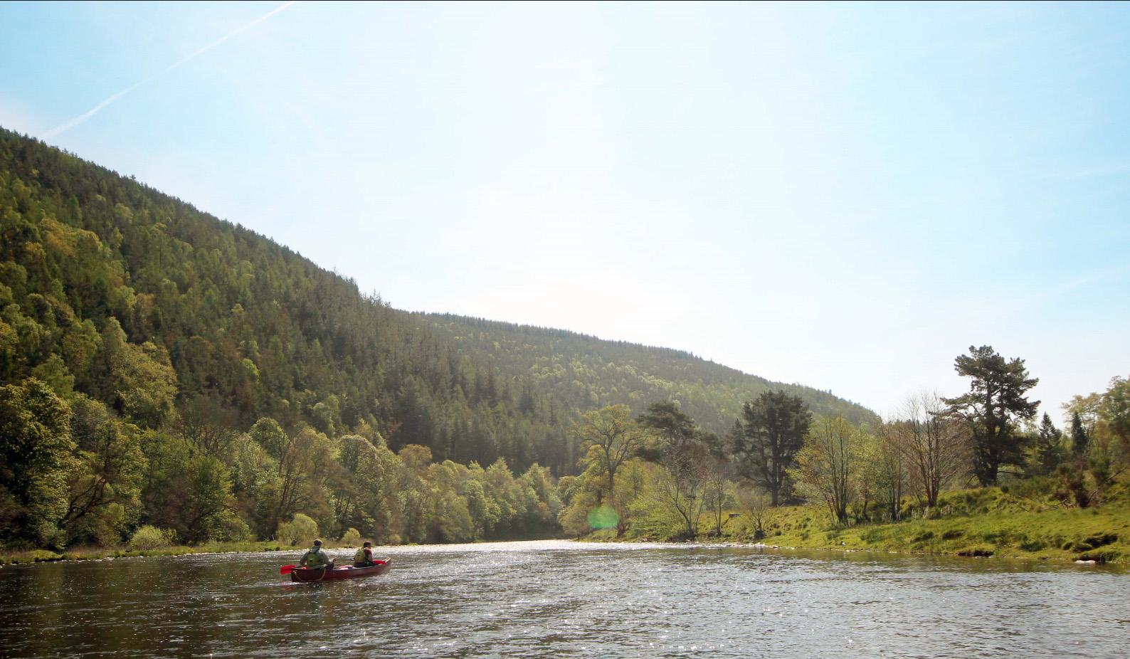 Multi Day river Tweed Canoe Expedition | Kanaytics